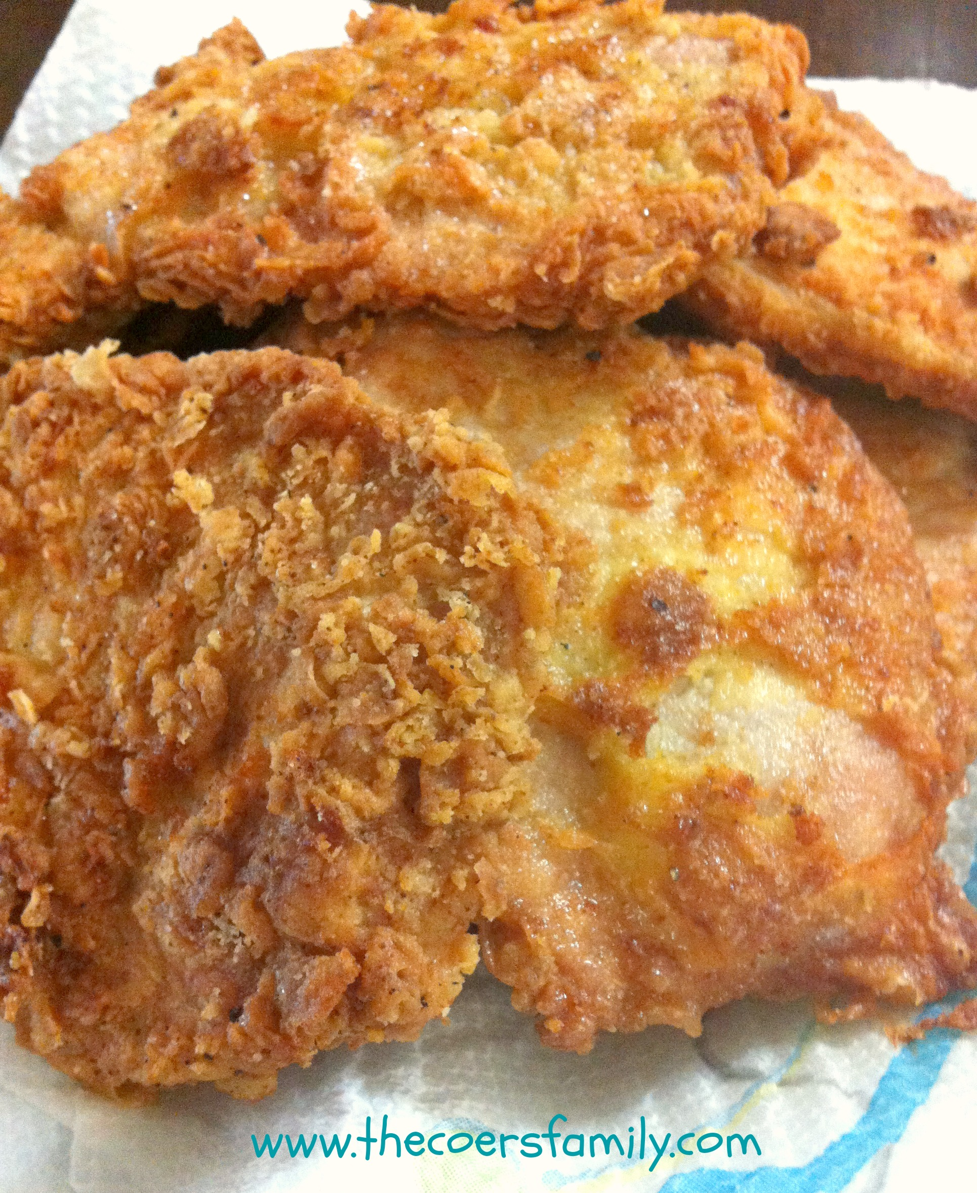 Country Fried Pork Chops - The Coers Family