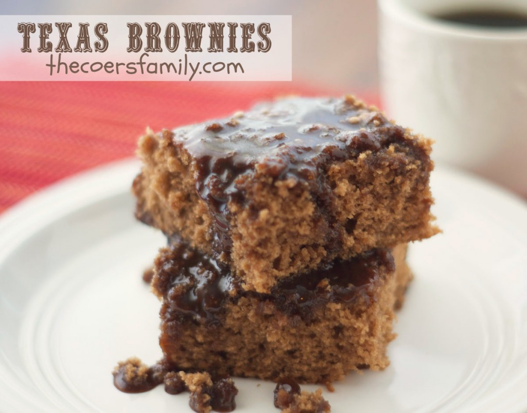 Coers Texas Brownies