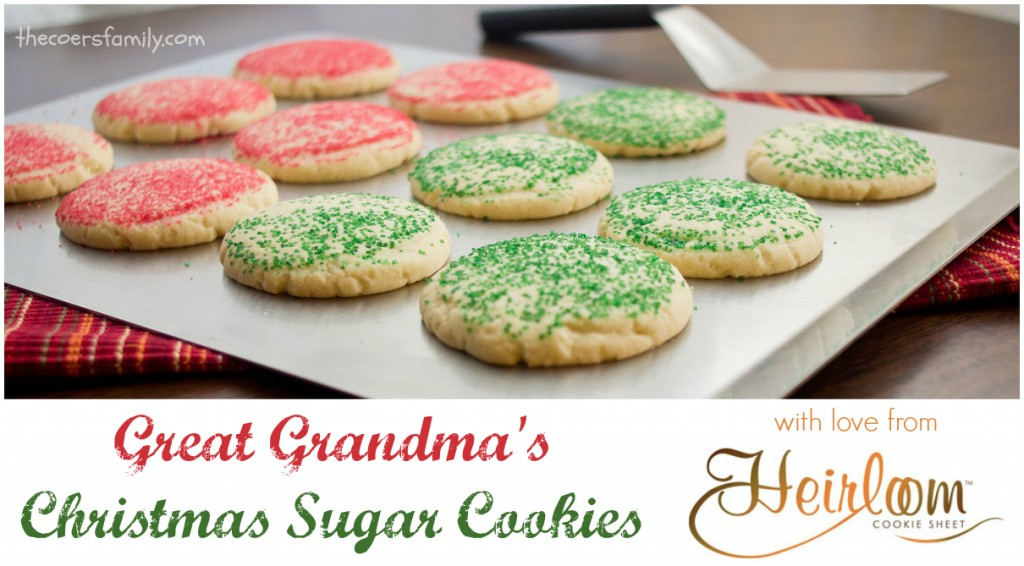 Jeannie's Great Grandma's Christmas Sugar Cookies - The Coers Family