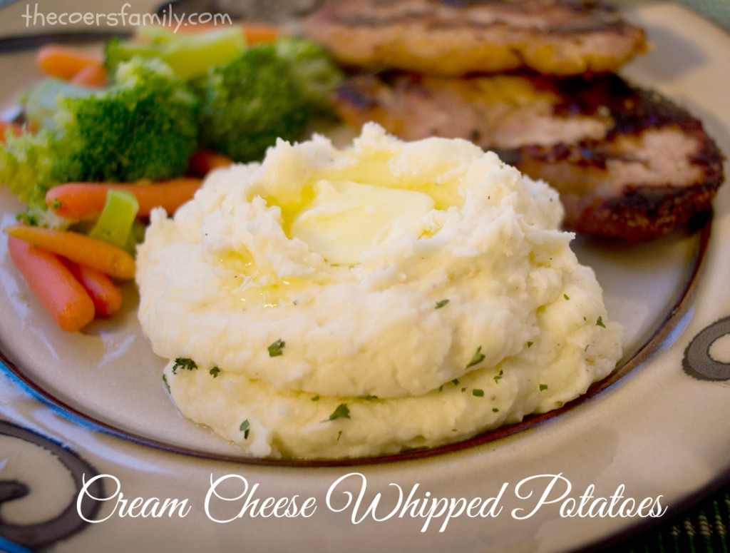Cream Cheese Mashed Potatoes - The Coers Family