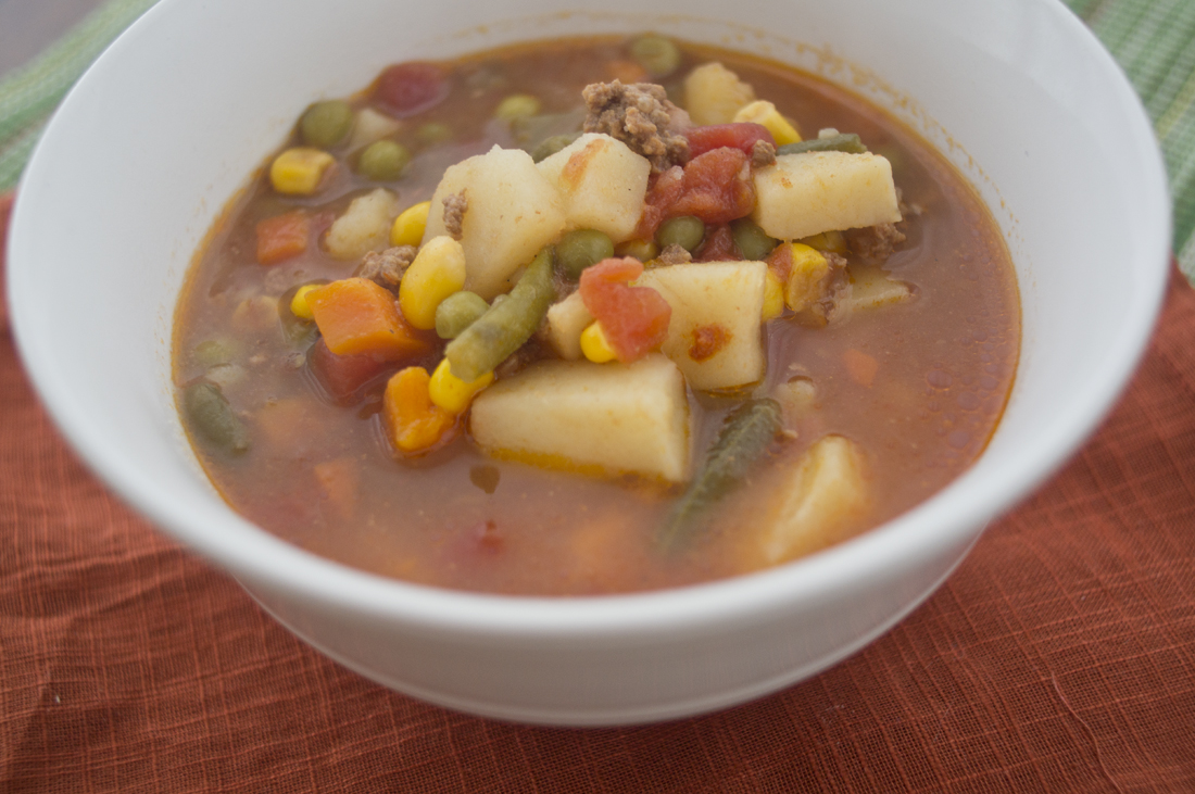 Beef Vegetable Soup - The Coers Family