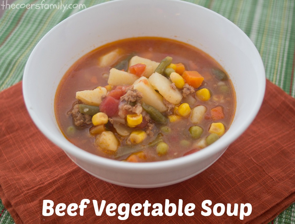 Vegetable Beef Soup images