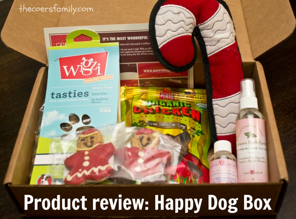 Happy Dog Box review