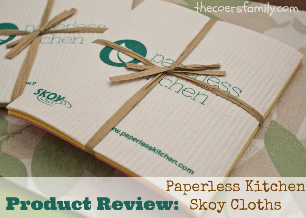 Paperless Kitchen Skoy Cloths