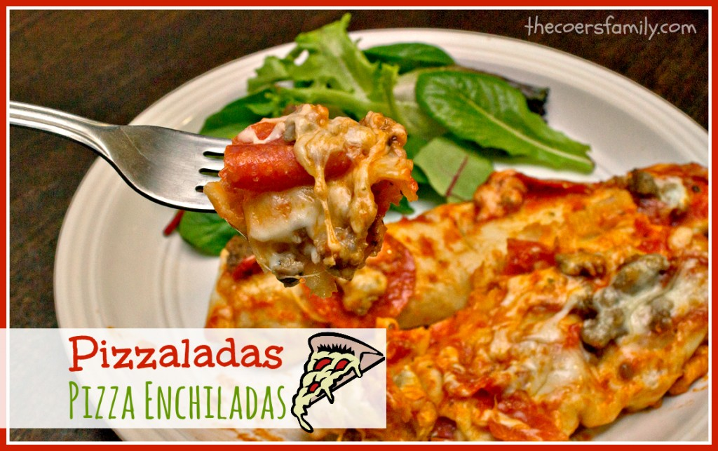 Pizza Enchiladas
