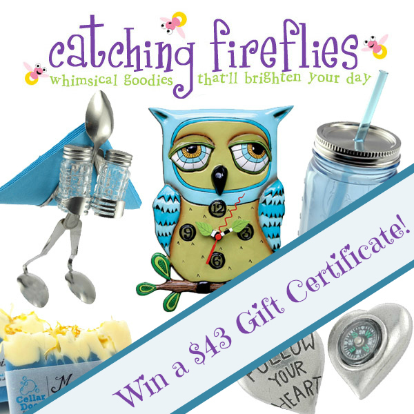 Win a $43 Gift Certificate from CatchingFireFlies.com