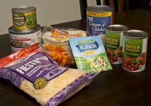 Ingredients for King Ranch Chicken Casserole