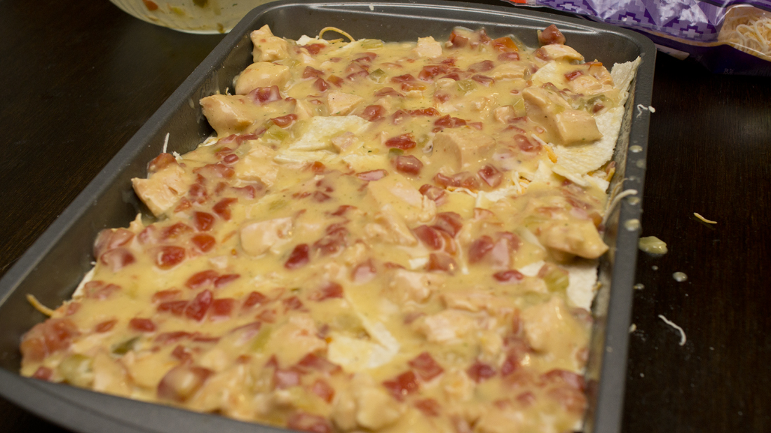 Quick and Easy King Ranch Chicken Casserole - The Coers Family
