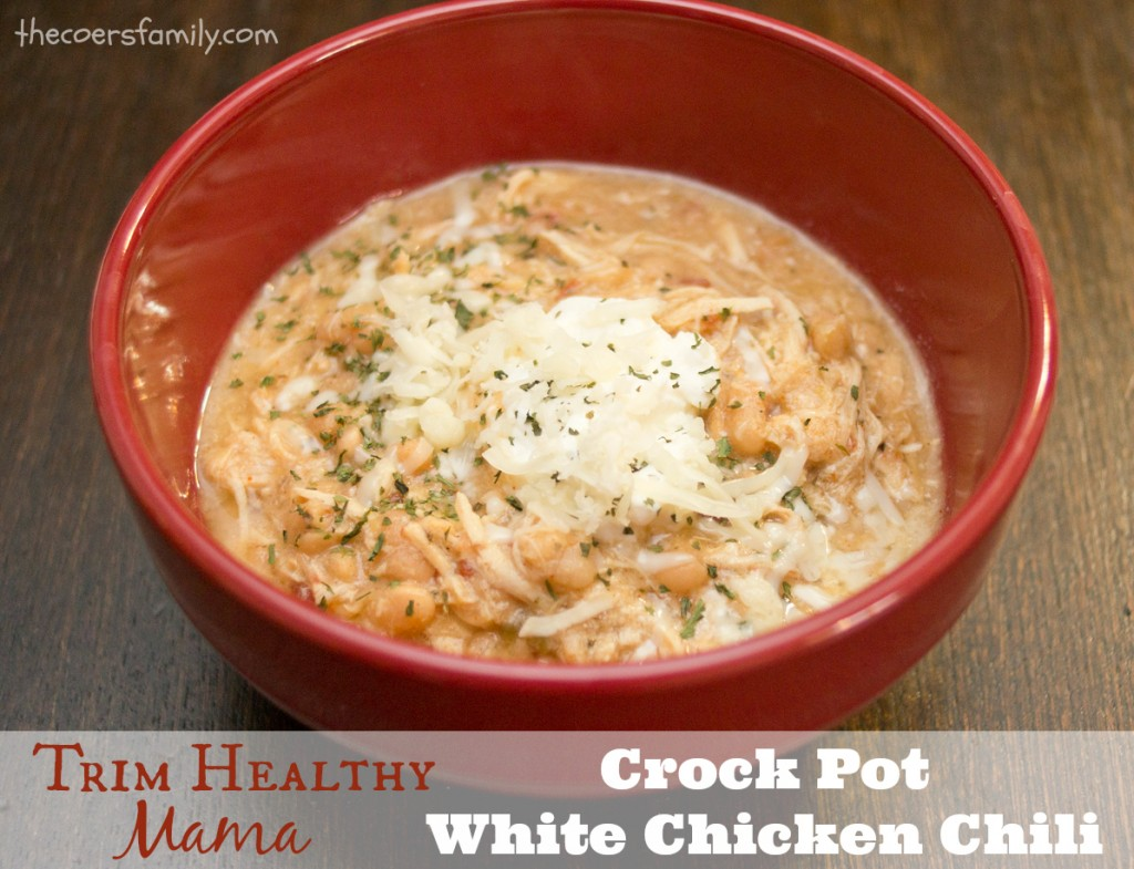 ... Healthy Mama style Crock Pot White Chicken Chili - The Coers Family