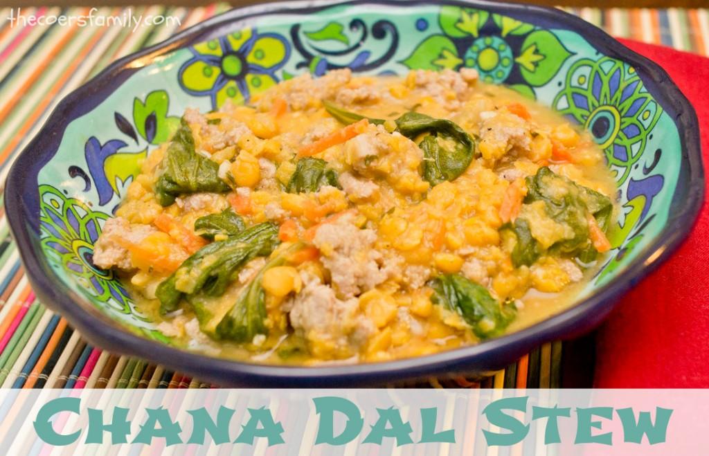 Chana Dal Stew