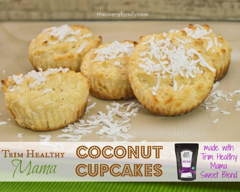 Trim Healthy Mama Coconut Cupcakes