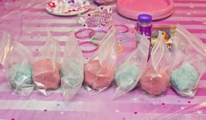 playdough princess party favors
