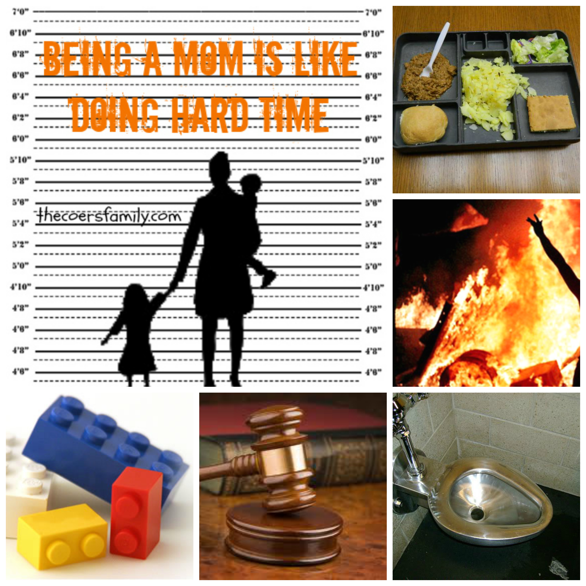 being a mom is like doing hard time