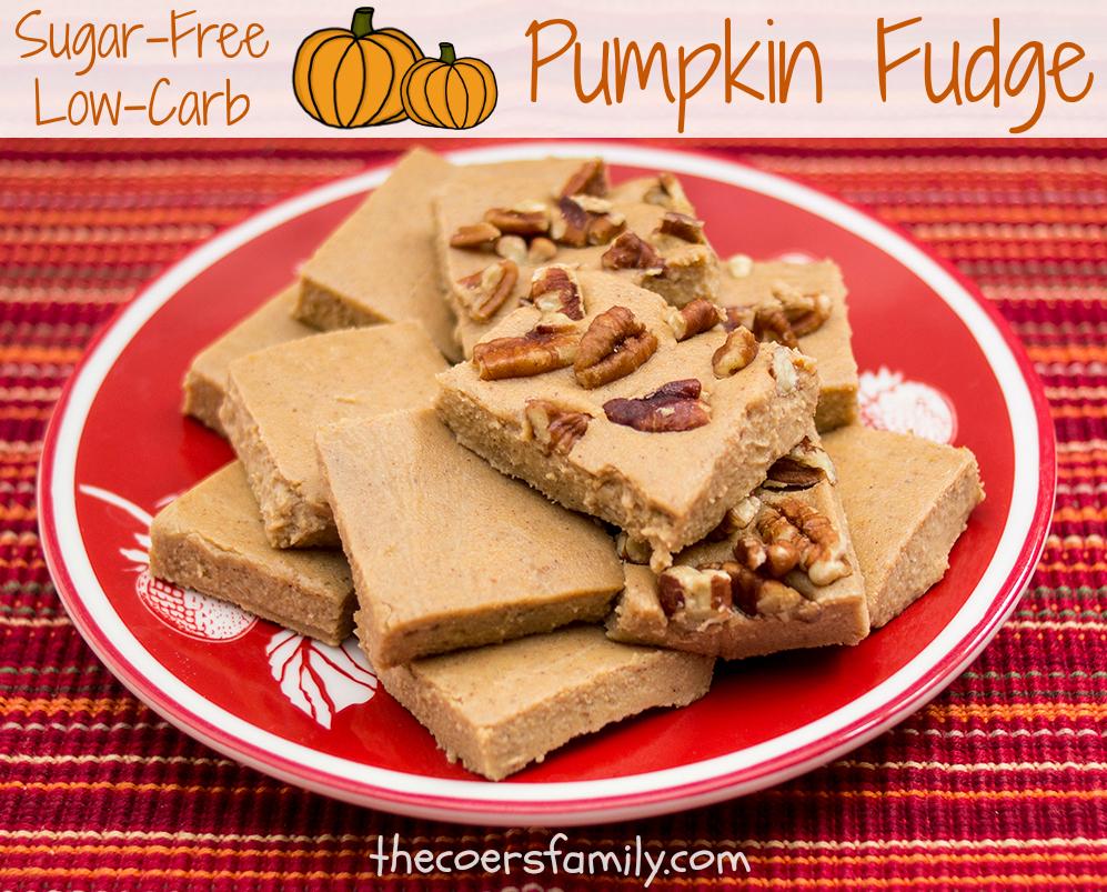 Trim Healthy Mama Pumpkin Fudge (S)
