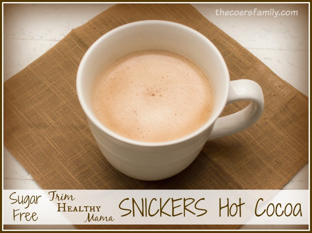 Trim Healthy Mama Snickers Hot Cocoa