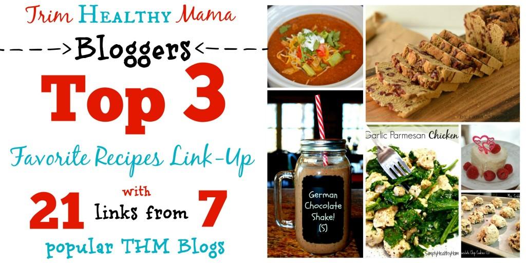 Trim Healthy Mama Recipes link up