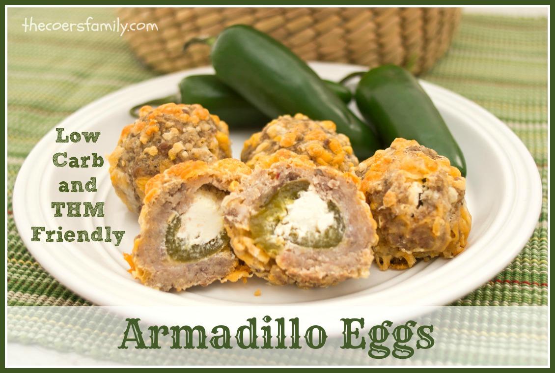 Low Carb Armadillo Eggs